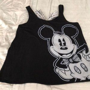 DisneyParks Mickey Open Back Tank